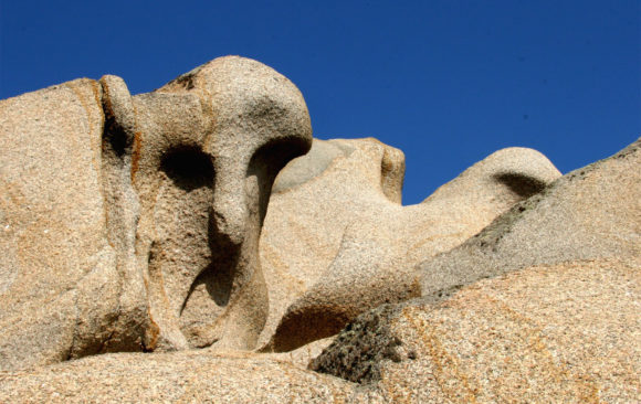 Sardinia Anthropomorphic Rocks